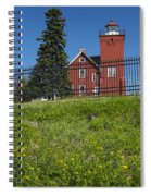 Two Harbors Mn Lighthouse 26 Spiral Notebook