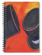 Two Hats Spiral Notebook
