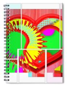 Two Hearts Are Better Than One Spiral Notebook