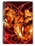 Two Hearts Spiral Notebook