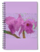 Two Hothouse Beauties Spiral Notebook