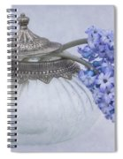 Two Hyacinth Flowers Spiral Notebook