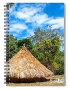 Two Indigenous Huts Spiral Notebook