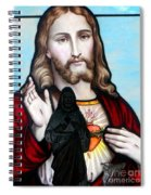 Two Jesuses Spiral Notebook