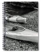 Two Kayaks On Seneca Lake Spiral Notebook