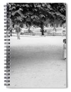 Two Kids In Paris Spiral Notebook