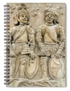 Two Knights - House Sign Spiral Notebook