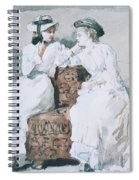 Two Ladies Spiral Notebook