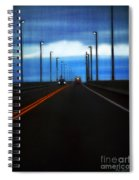 Two-lane Blacktop Spiral Notebook
