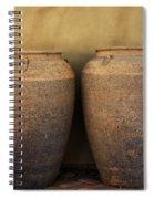 Two Large Garden Urns Spiral Notebook