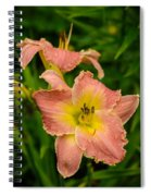 Two Lilies Spiral Notebook