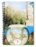 Two Lost Souls Spiral Notebook