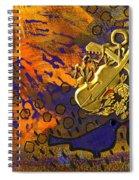 Two Love Birds Spiral Notebook