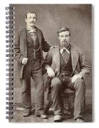 Two Men, 19th Century Spiral Notebook