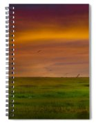 Two Mile Landing Colorful Sky Spiral Notebook