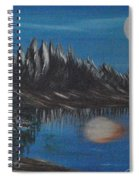 Two Moons That Meet In The Night Spiral Notebook