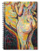 Two Nudes Spiral Notebook