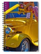Two Old Timers  Spiral Notebook