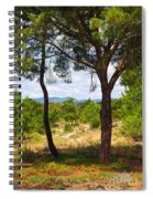 Two Pine Trees Spiral Notebook