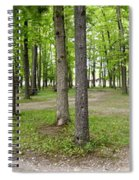 Two Roads Diverged Letchworth State Park Panorama Spiral Notebook