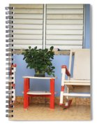 Two Rocking Chairs On The Porch Spiral Notebook