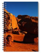 Two Rocks At Cliff Dwellers Spiral Notebook
