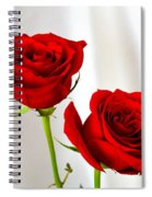Two Roses Spiral Notebook