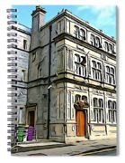 Two Rubbish Bins In Sligo Spiral Notebook