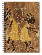 Two Sax Players Spiral Notebook