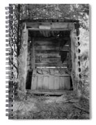 Two-seater Outhouse Spiral Notebook