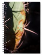 Two Shades Of Cactus Spiral Notebook