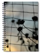 Two Sides Of The Fence Spiral Notebook
