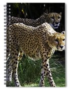 Two Sisters Hunting Spiral Notebook