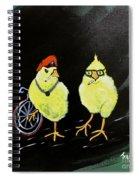 Two Smokin Hot Chicks Spiral Notebook