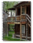 Two Story Outhouse - Nevada City Montana Spiral Notebook
