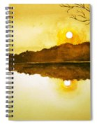 Two Suns Spiral Notebook