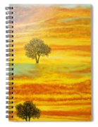 Two Sunsets In Limassol Spiral Notebook