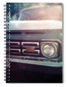 Two-tone Ford Pickup Spiral Notebook