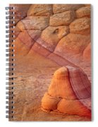 Two Tone Rock Spiral Notebook