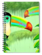 Two Toucans Spiral Notebook