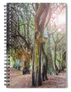 Two Tunnels Taxus Spiral Notebook