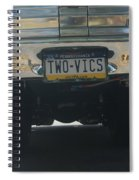 Two Vics Spiral Notebook
