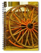 Two Wagon Wheels Spiral Notebook