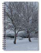 Two Winter Trees Spiral Notebook