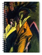 Two Women On The Street Spiral Notebook