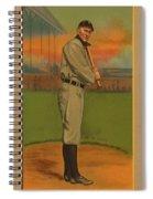 Ty Cobb Circa 1911 Spiral Notebook
