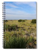 Tybee Island Dunes And Path Spiral Notebook