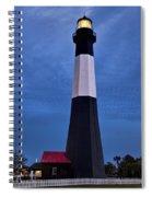 Tybee Island Evening Light Spiral Notebook