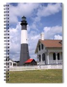Tybee Island Light Spiral Notebook