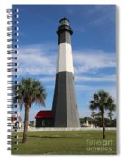 Tybee Island Lighthouse Spiral Notebook